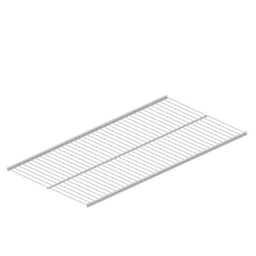 10718-00018= Twin Drahtboden 800x300 mm weiß Classic 50 Element ...