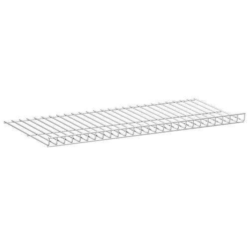 10707-00001= Drahtgitterfachboden 800x400mm weiß CLASSIC 50 ...