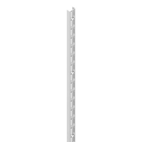 10002-00055= Wandschienen 2-reihig H 1400mm weiß Classic 32 ...