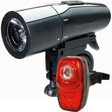 cbp set vegas f10 vegas r stvzo zugelassen fahrradbeleuchtung ebay. Black Bedroom Furniture Sets. Home Design Ideas