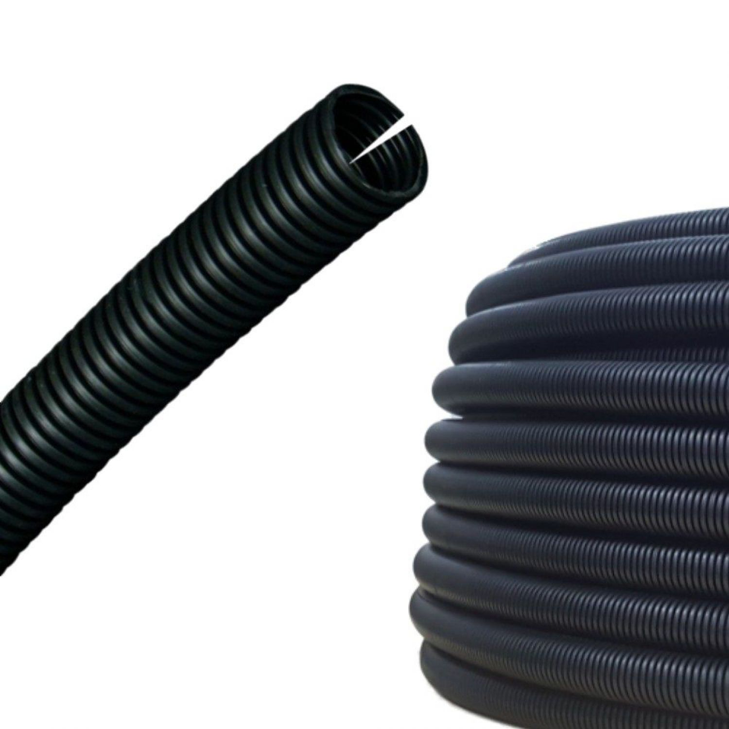 AUPROTEC Corrugated Tube 4.5mm Slit Wire Loom Conduit M7 Cable ...
