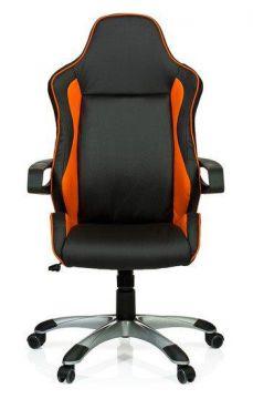gaming stuhl b rostuhl racer pro kunstleder schwarz orange hjh office ebay. Black Bedroom Furniture Sets. Home Design Ideas