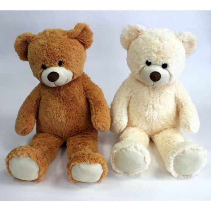riesen teddyb r pl schtier stofftier weich geschenk kuscheltier braun oder beige ebay. Black Bedroom Furniture Sets. Home Design Ideas