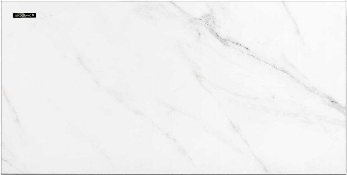 teploceramic infrarot heizpaneel tcm 450 rd creme wei marmor ebay. Black Bedroom Furniture Sets. Home Design Ideas