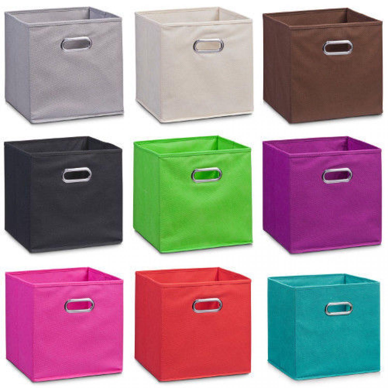 aufbewahrungsbox stoff korb vlies box kinder schrankbox kiste aufbewahrungskiste ebay. Black Bedroom Furniture Sets. Home Design Ideas