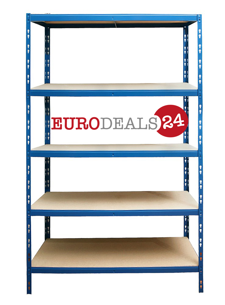 Steckregal lagerregal kellerregal 180x100x40 cm blau 5 for Sofa 60 cm tief