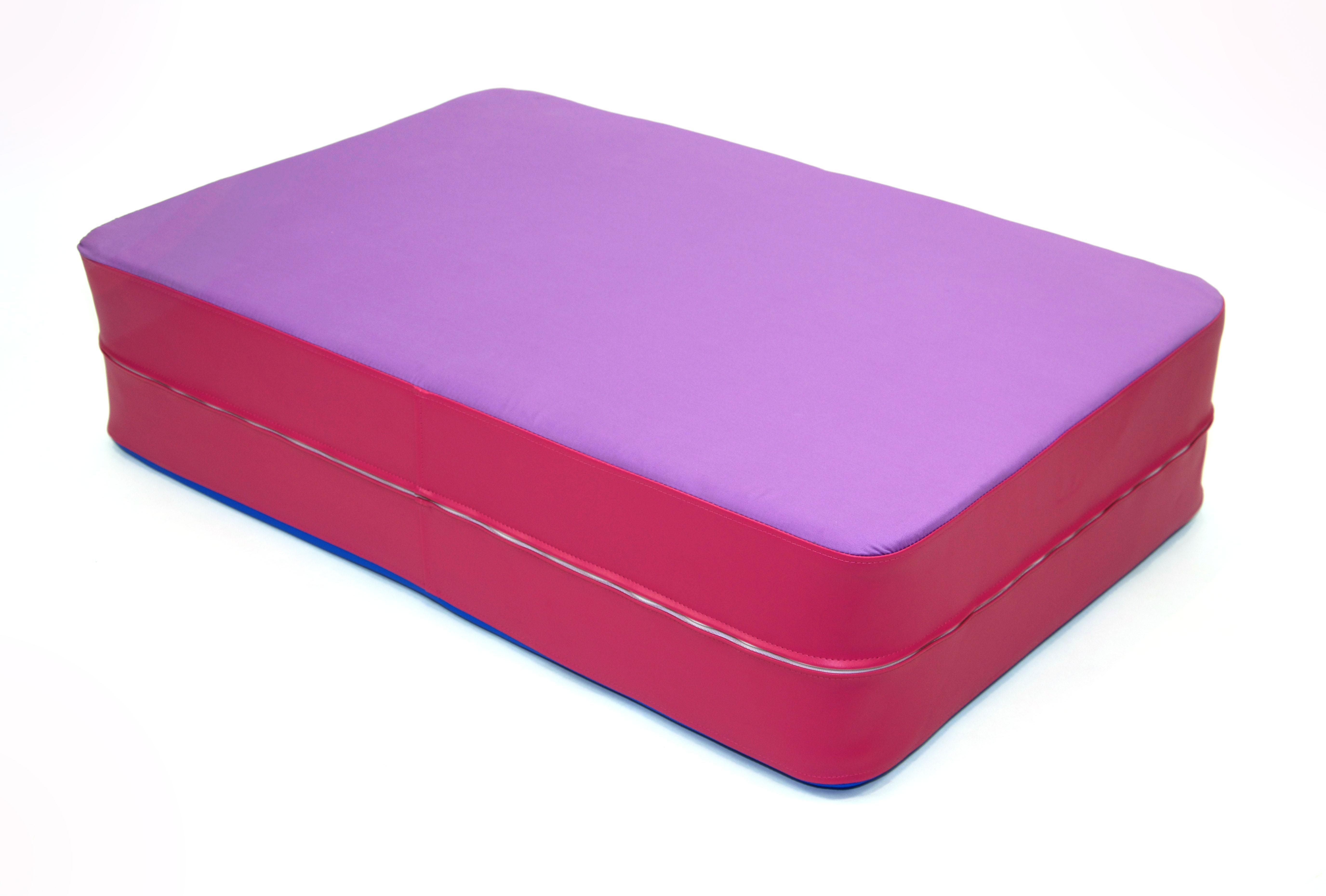 profi h pfmatratze das indoor trampoline h pfmatte sprungmatte liegematte ebay. Black Bedroom Furniture Sets. Home Design Ideas