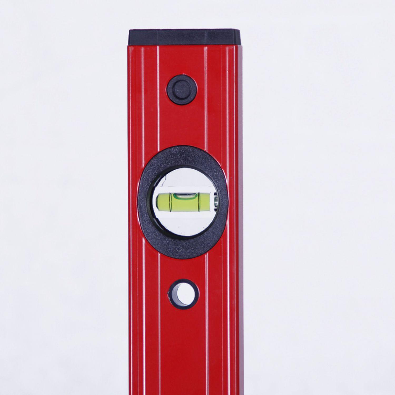 wasserwaage 30 200 cm rot waage alu werkzeug aluminium messwerkzeug handwerker ebay. Black Bedroom Furniture Sets. Home Design Ideas