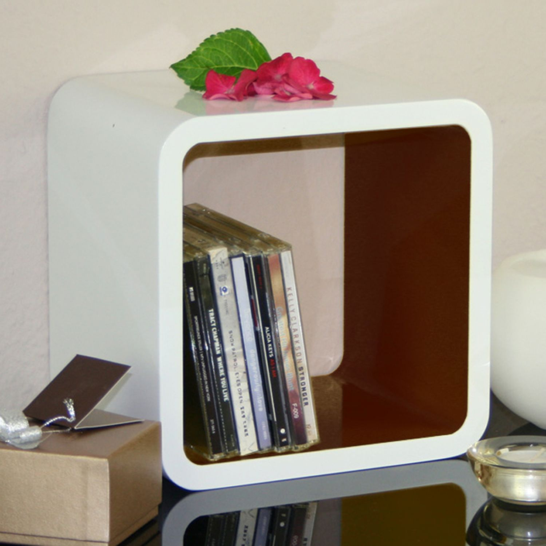 Perfect Finest Cubes Regale Quader Xxcm Wei Braun Regal Wrfel Wrfelregal  Cube Wand With Regal Wrfel With Cube Regal Wei