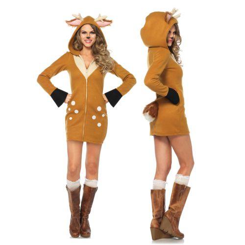 cozy fawn damen kost m leg avenue rehkitz kitz bambi. Black Bedroom Furniture Sets. Home Design Ideas