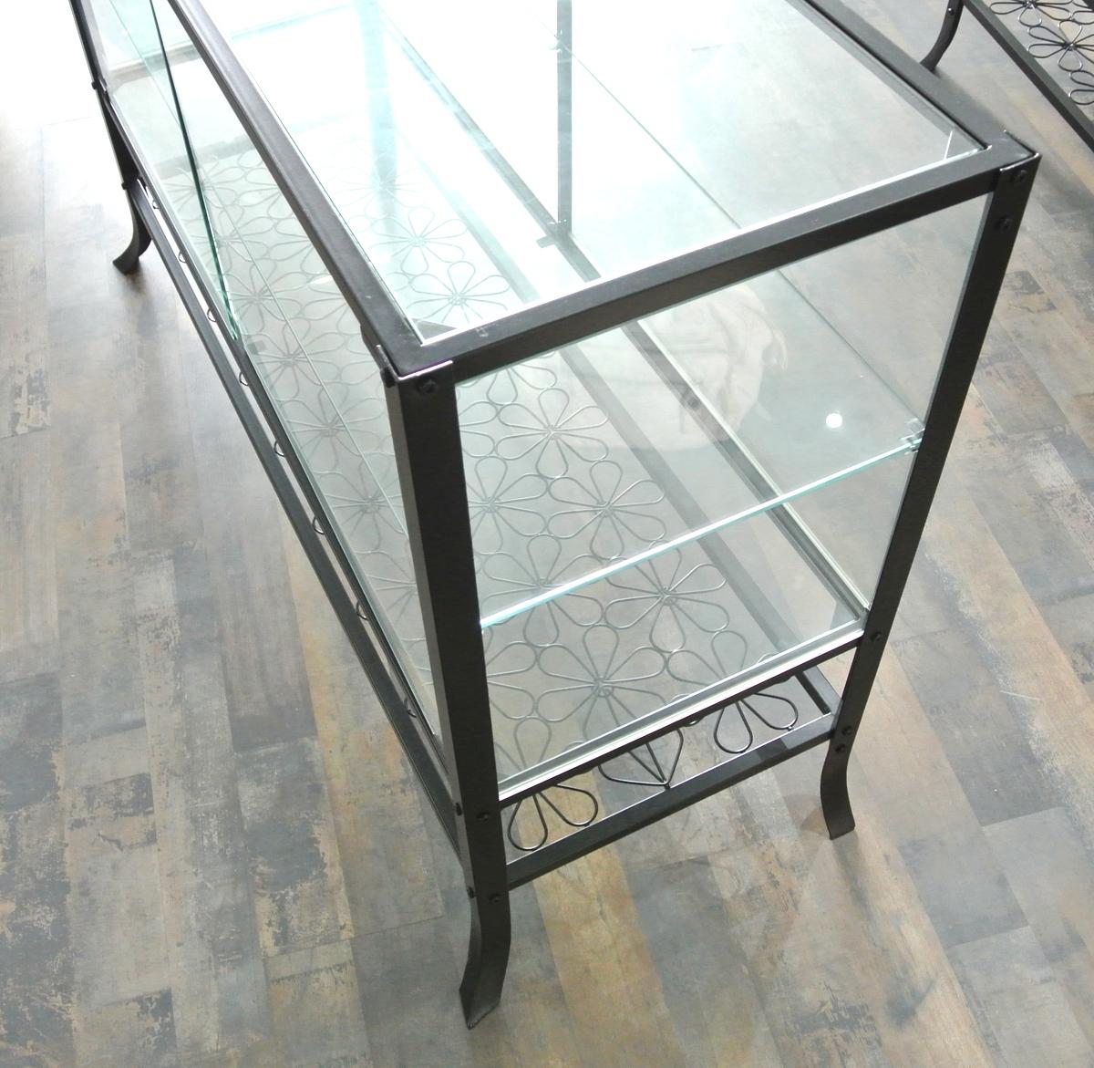 Ikea klingsbo vitrine ca 137 x 46 x 80cm ebay for Vitrine ikea klingsbo