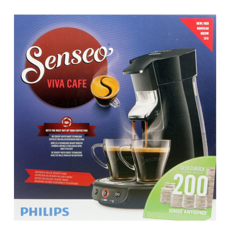 philips hd7829 69 senseo viva cafe kaffeemaschine schwarz ebay. Black Bedroom Furniture Sets. Home Design Ideas