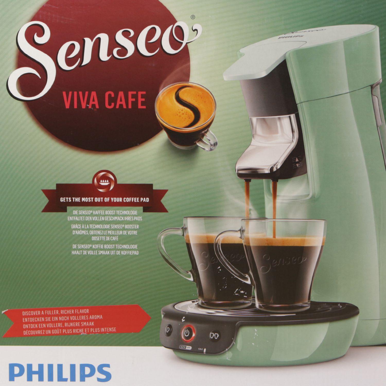 philips hd7829 10 senseo viva cafe kaffeemaschine mint ebay. Black Bedroom Furniture Sets. Home Design Ideas