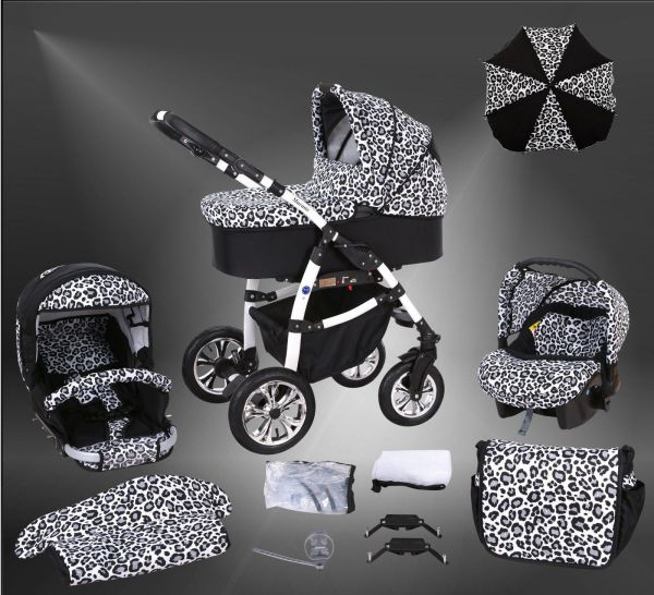 macano s kinderwagen sommer set babyschale schirm ebay. Black Bedroom Furniture Sets. Home Design Ideas