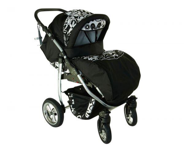 3in1 kombikinderwagen kinderwagen babyschale babywagen sofort lieferbar dino ebay. Black Bedroom Furniture Sets. Home Design Ideas
