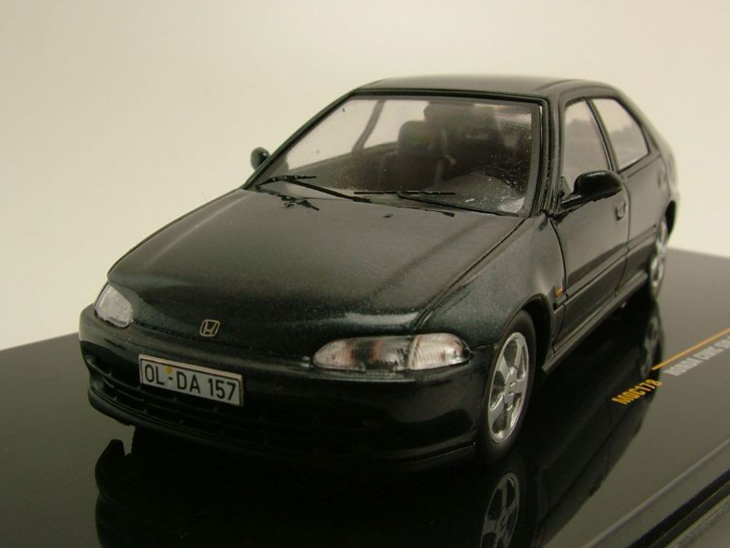honda civic sir eg9 1992 dark grey metallic model car 1 43 ixo models ebay. Black Bedroom Furniture Sets. Home Design Ideas