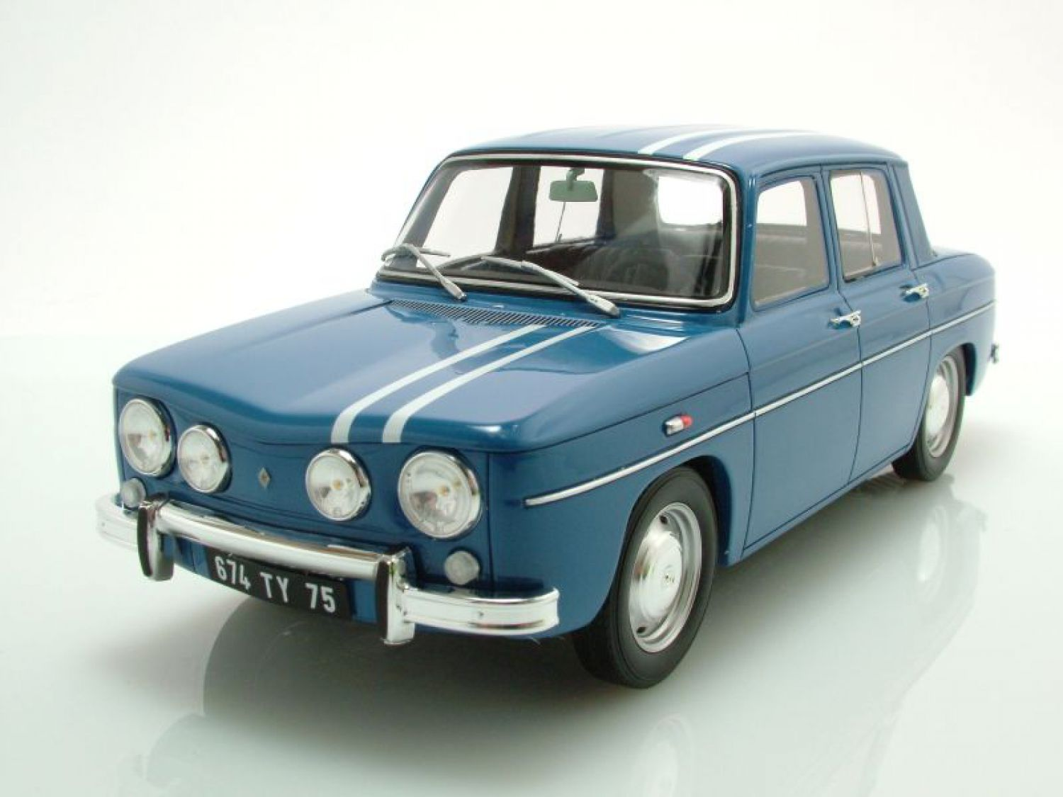 renault 8 gordini 1300 blau modellauto 1 18 ottomobile. Black Bedroom Furniture Sets. Home Design Ideas