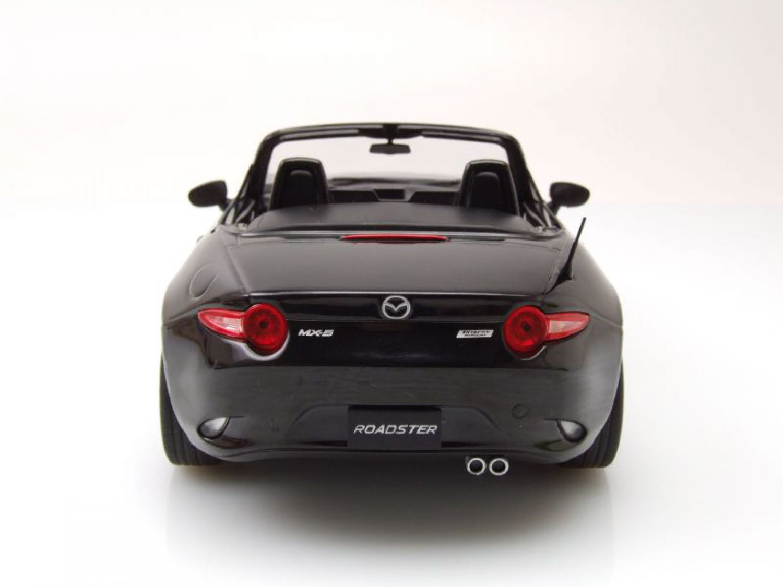 mazda mx 5 cabrio 2015 schwarz modellauto 1 18 triple9 ebay. Black Bedroom Furniture Sets. Home Design Ideas