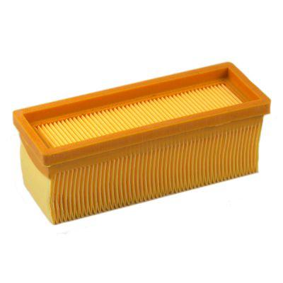 flachfaltenfilter filter lamellenfilter ersatz f r k rcher k2501 2701 ebay. Black Bedroom Furniture Sets. Home Design Ideas