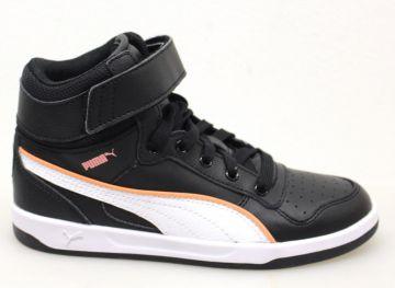 Puma Puma Liza Mid Black-White, Schuhe, Sneaker & Sportschuhe, Hohe Sneaker, Schwarz, Female, 36