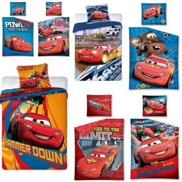 2tlg bettw sche cars autos 100x135 135x200 140x200 lizenz disney 100 umwolle ebay. Black Bedroom Furniture Sets. Home Design Ideas