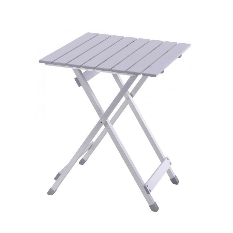 campingtisch aluminium 48x61cm klapptisch balkontisch gartentisch beistelltisch. Black Bedroom Furniture Sets. Home Design Ideas