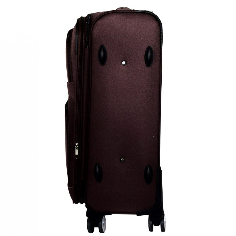 luxus reisekoffer stoff reise trolley schwarz l handgep ck. Black Bedroom Furniture Sets. Home Design Ideas