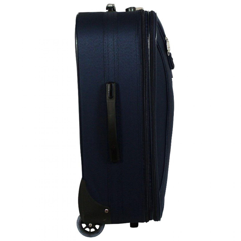 tokyo stoff reisekoffer reisetasche trolley koffer reise. Black Bedroom Furniture Sets. Home Design Ideas