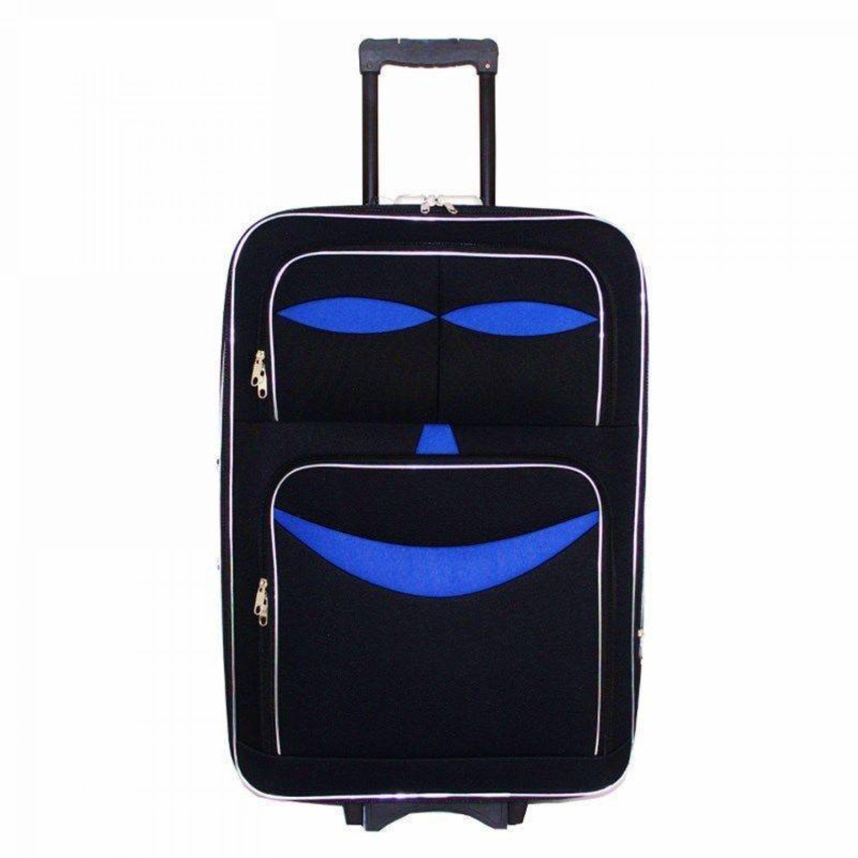 reisekoffer trolley koffer reise stoff reisetasche schwarz. Black Bedroom Furniture Sets. Home Design Ideas