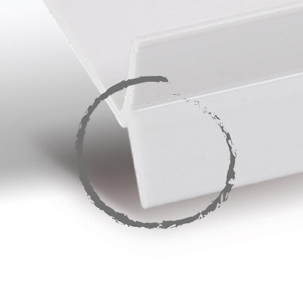 3 meter sockeldichtung k chensockel abdichtungsprofil 15 19mm sockel k che bad ebay. Black Bedroom Furniture Sets. Home Design Ideas