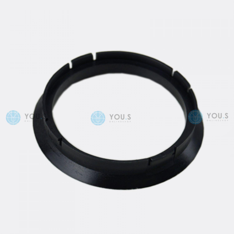 1 x anillo anillo distanciador para llantas de aluminio 72,5-63,4 mm alloytec ICW asa