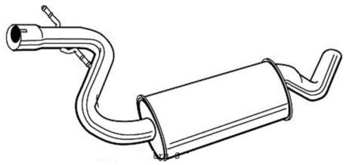 auspuff mitte mitteltopf haupt mittelschalld mpfer vw golf. Black Bedroom Furniture Sets. Home Design Ideas