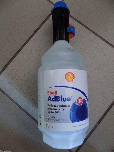 shell adblue 1 5l mit au gie er harnstoffl sung diesel vw. Black Bedroom Furniture Sets. Home Design Ideas