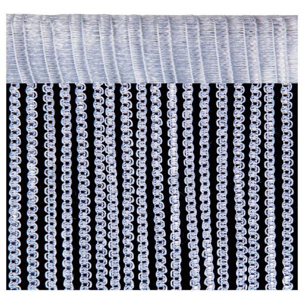 fadenvorhang lurex optik fadengardine raumteiler t rvorhang gardine dekoschal ebay. Black Bedroom Furniture Sets. Home Design Ideas