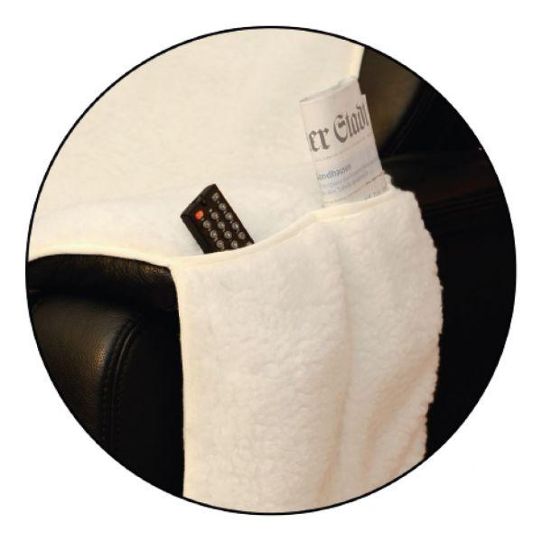 polsterschoner sesselbezug sesselschoner sesselauflage fernsehsessel lammflor ebay. Black Bedroom Furniture Sets. Home Design Ideas