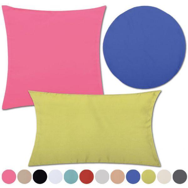 kissenh lle kissenbezug dekokissen microfaser microsatin 40x40 50x50 60x60 uvm ebay. Black Bedroom Furniture Sets. Home Design Ideas