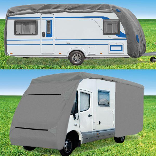 wohnwagen schutzh lle caravan abdeckung plane schutzhaube. Black Bedroom Furniture Sets. Home Design Ideas