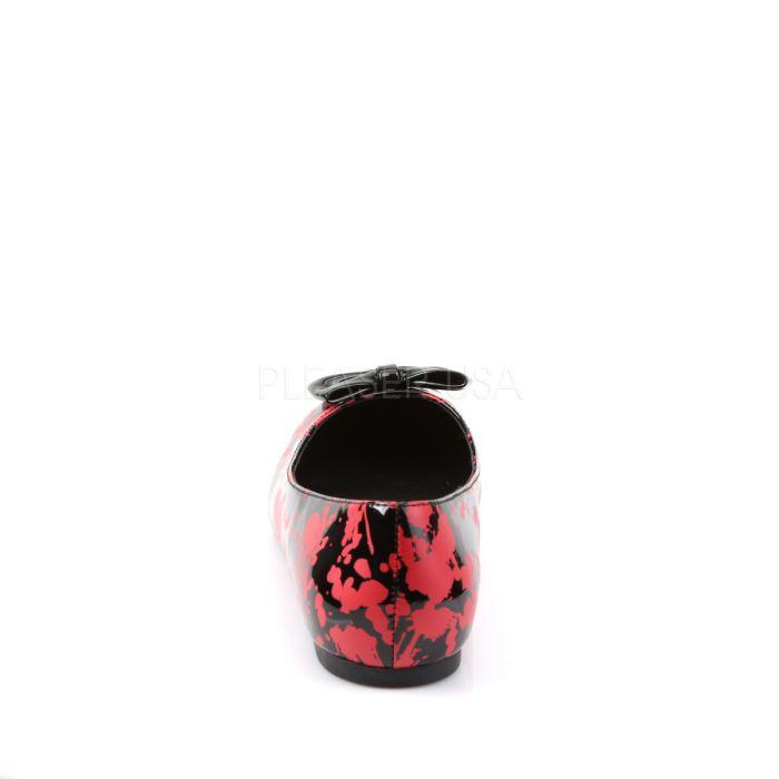 vail 20bl gothic emo rockabilly alternative ballerina ballerinas schuhe funtasma ebay. Black Bedroom Furniture Sets. Home Design Ideas