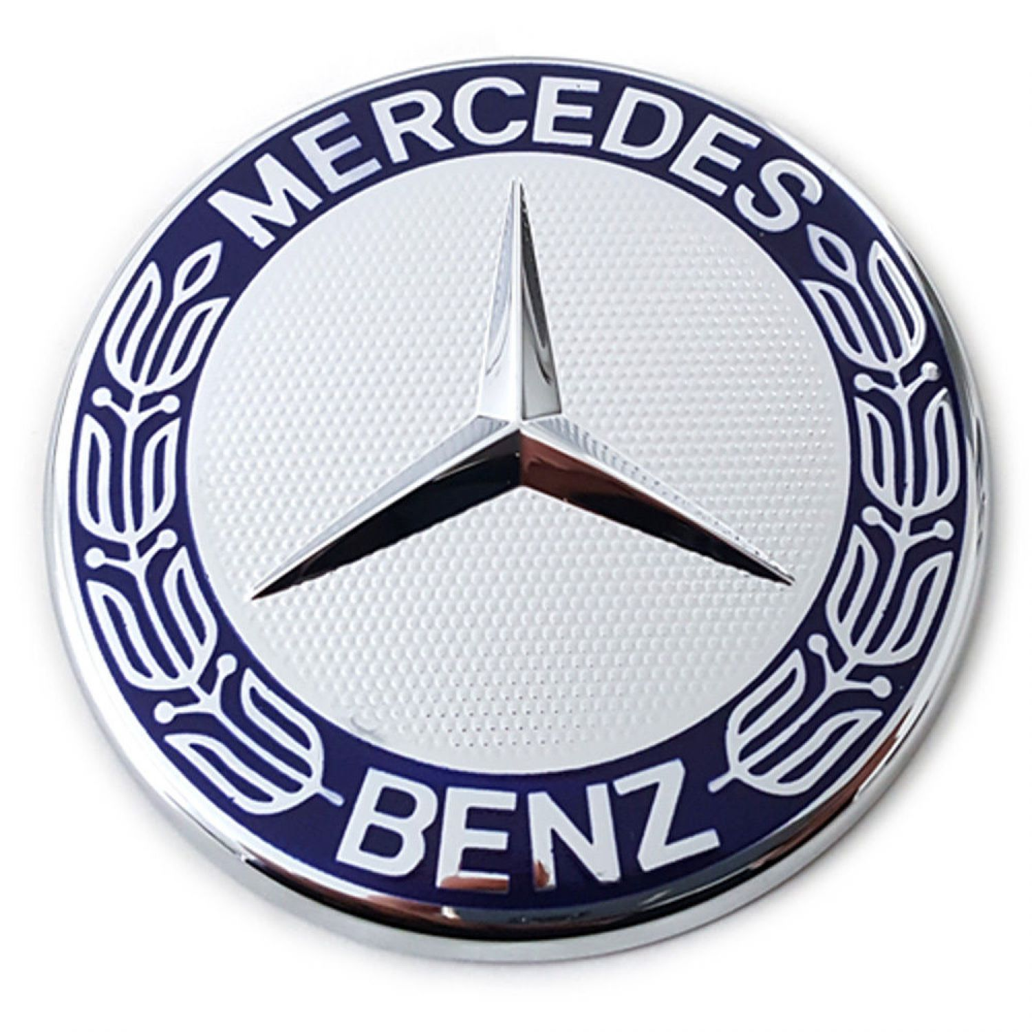 Mercedes benz sticker decal emblem stars bonnet a b c e g for Mercedes benz bonnet badge