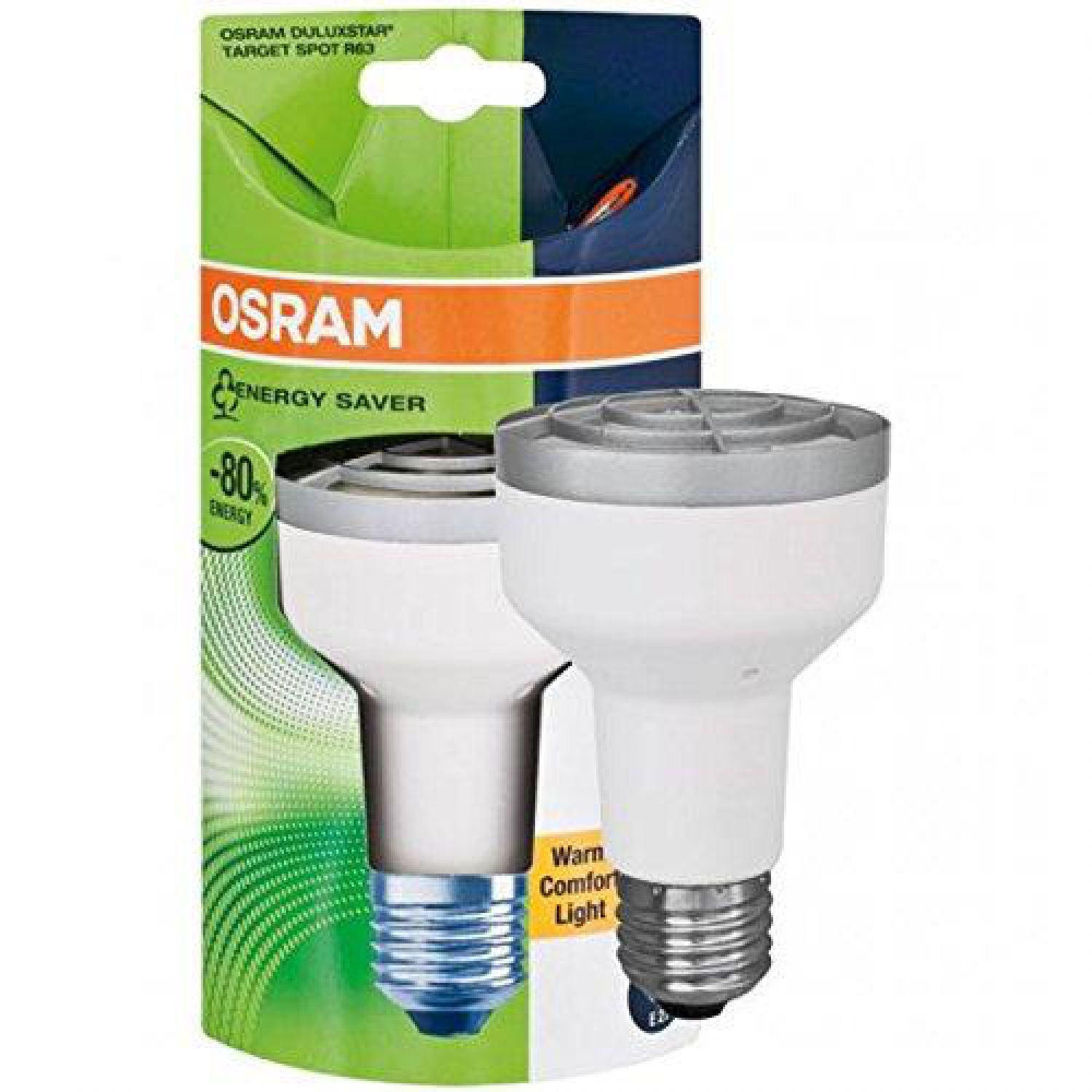 osram duluxstar target spotlight r63 13w e27 warm white. Black Bedroom Furniture Sets. Home Design Ideas