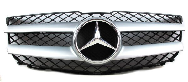 mercedes benz grill k hlergrill silber x204 glk klasse inkl stern a2048802983 ebay. Black Bedroom Furniture Sets. Home Design Ideas