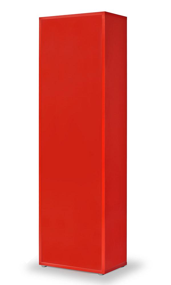 regal rot click regal l 4 einlegeb den b cherregal. Black Bedroom Furniture Sets. Home Design Ideas