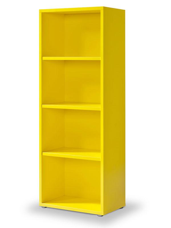 regal gelb click regal m 3 einlegeb den b cherregal lichtgelb ebay. Black Bedroom Furniture Sets. Home Design Ideas