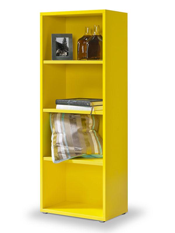 regal gelb click regal m 3 einlegeb den b cherregal. Black Bedroom Furniture Sets. Home Design Ideas