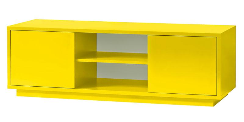 tv lowboard gelb sideboard tv schrank ebay. Black Bedroom Furniture Sets. Home Design Ideas