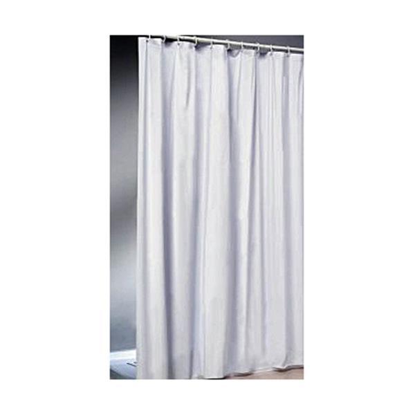 Duschvorhang 240x200 textil duschvorhang ringe stoffvorhang dusche gross 240x200 weiss ebay