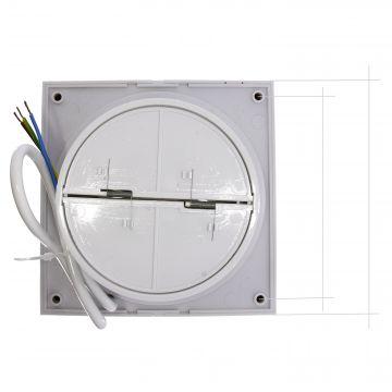 badl fter ventilator 120 mm wandventilator badezimmerl fter l fter wc bad ebay. Black Bedroom Furniture Sets. Home Design Ideas