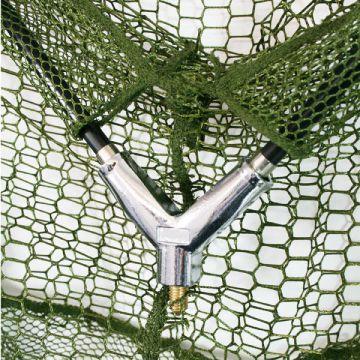 """NEU XXL 50/"""" Karpfenkescher 120cm Kescher Unterfangkescher Landing Net Metallkopf"""