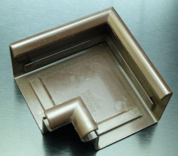 dachrinnen innenwinkel kastenrinne 70 mm abwasserrohr abflussrohr brau rug neu ebay. Black Bedroom Furniture Sets. Home Design Ideas