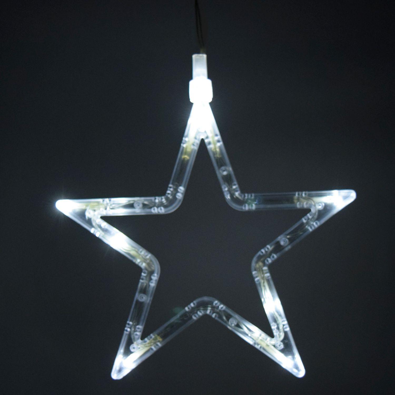 555 led acryl stern warmwei dekoleuchte weihnachtslampe weihnachtsleuchte ebay. Black Bedroom Furniture Sets. Home Design Ideas